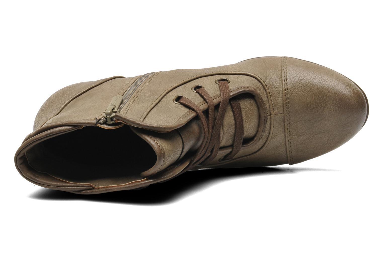 Boots en enkellaarsjes Mustang shoes Ibline Beige links