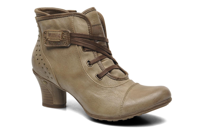 Boots en enkellaarsjes Mustang shoes Ibline Beige detail