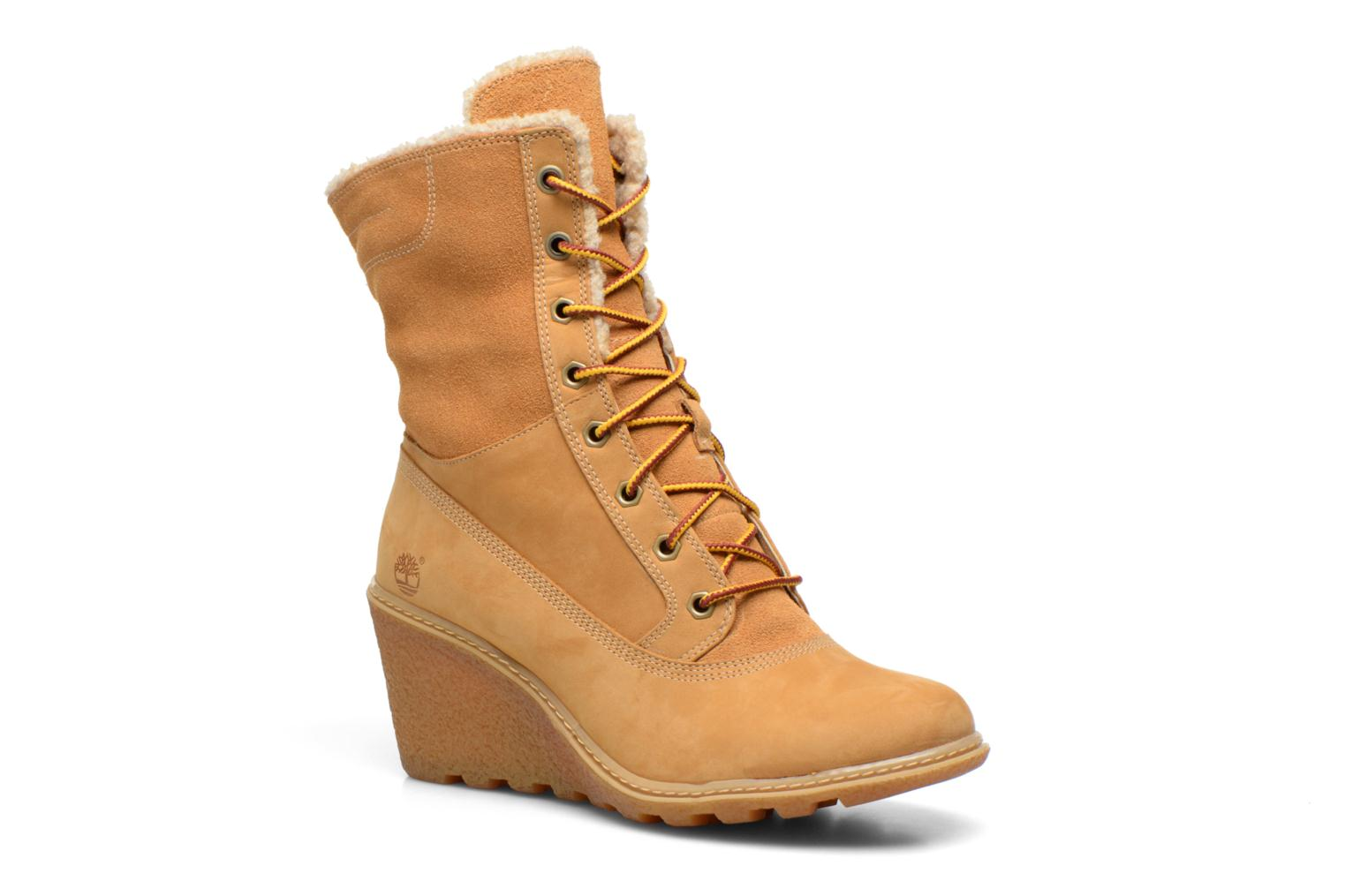 Bottines et boots Timberland Earthkeepers Amston Roll-Top Beige vue 3/4
