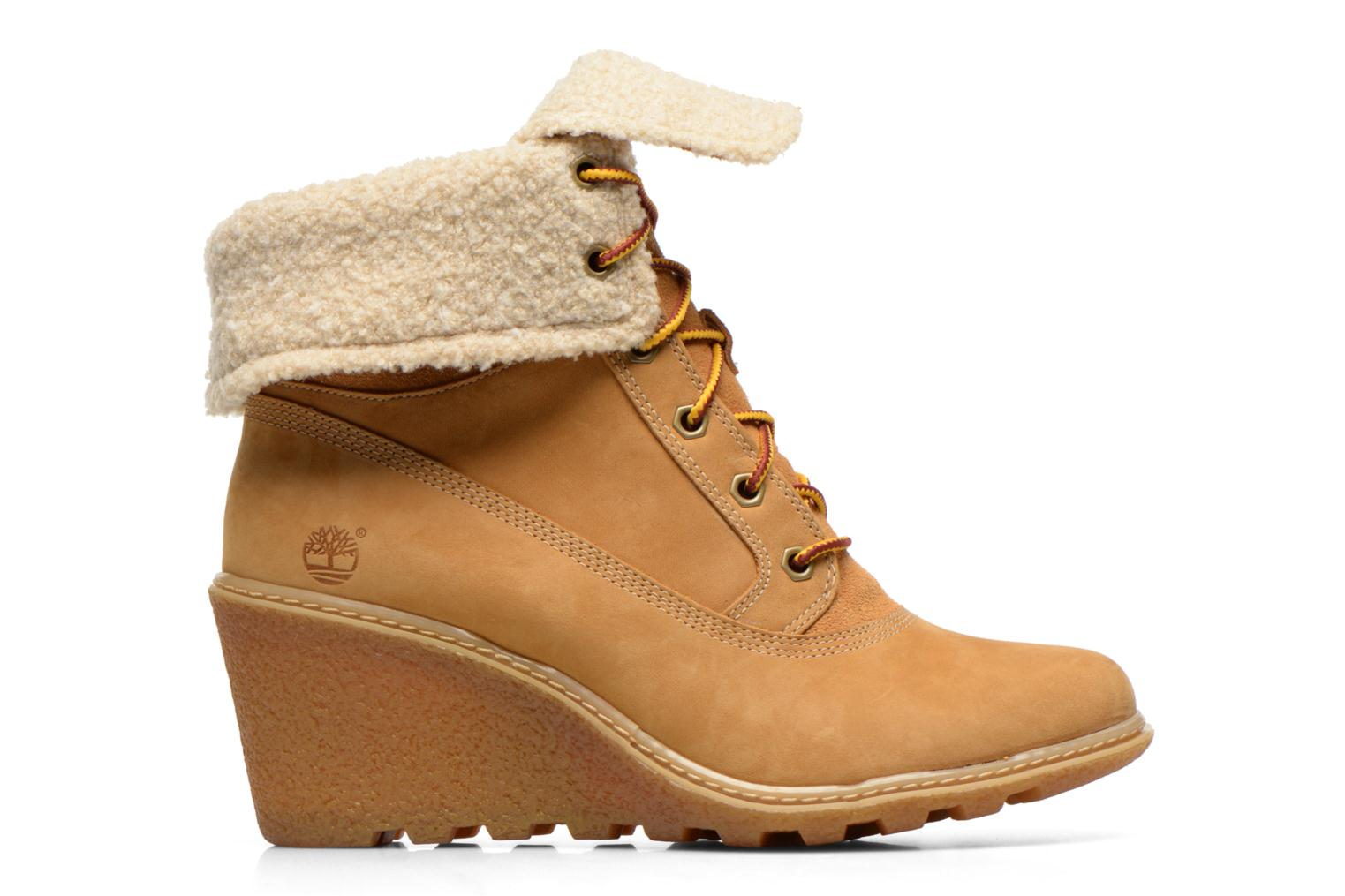 Ankle boots Timberland Earthkeepers Amston Roll-Top Beige back view