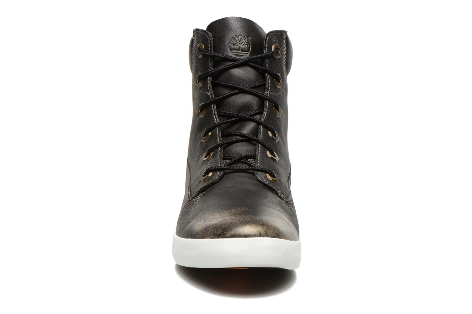 """Baskets Timberland Earthkeepers Glastenbury 6"""" Boot Noir vue portées chaussures"""