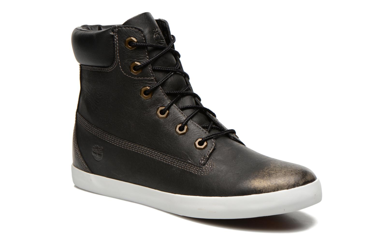 """Baskets Timberland Earthkeepers Glastenbury 6"""" Boot Noir vue détail/paire"""