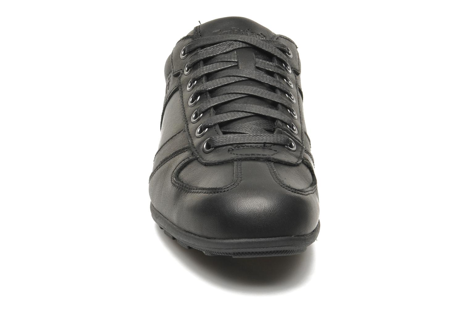 Baskets Timberland Earthkeepers Hookset Low Profile Leather Ox Noir vue portées chaussures