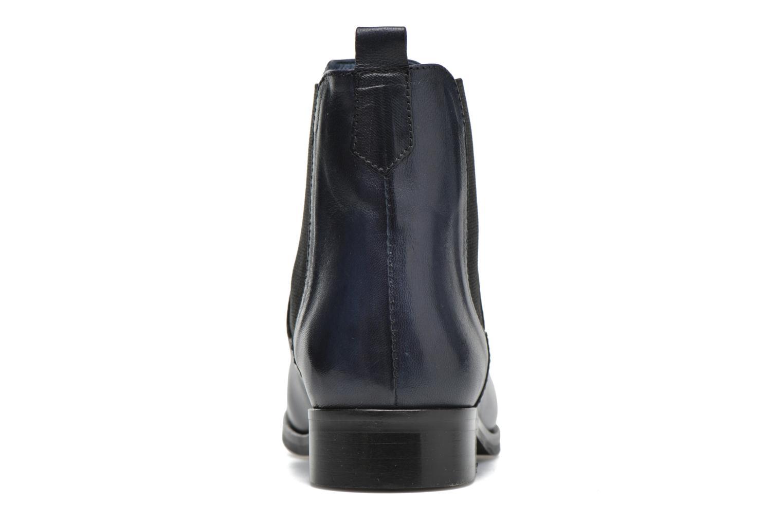 Bottines et boots PintoDiBlu Broche Bleu vue droite