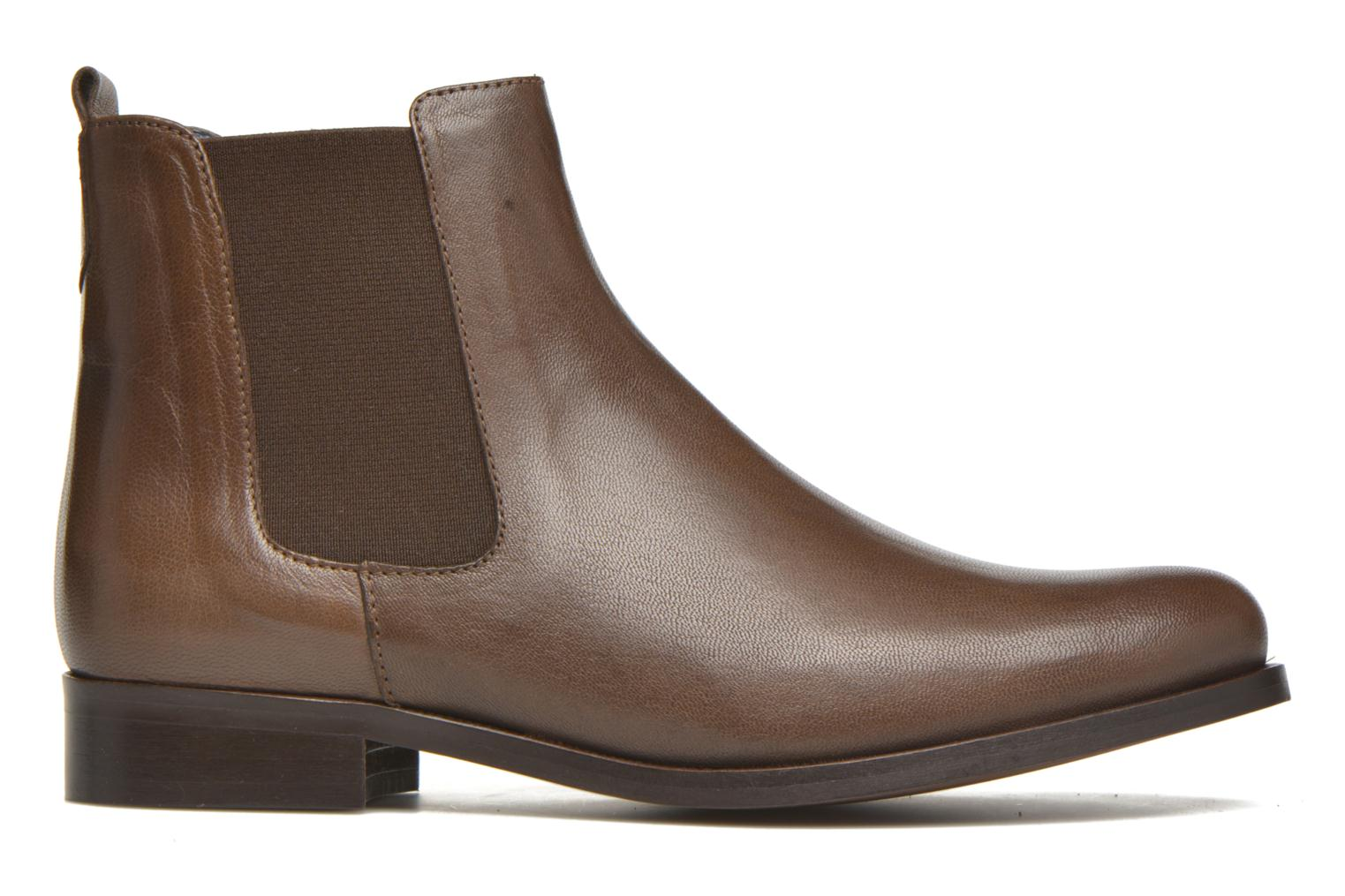 Ankle boots PintoDiBlu Broche Brown back view
