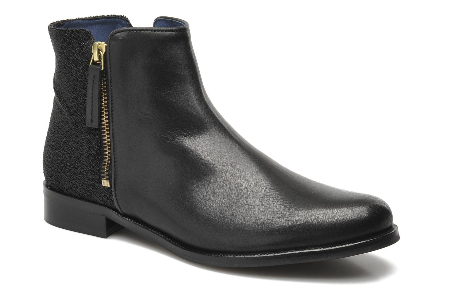 Ankle boots PintoDiBlu Marmara Black detailed view/ Pair view