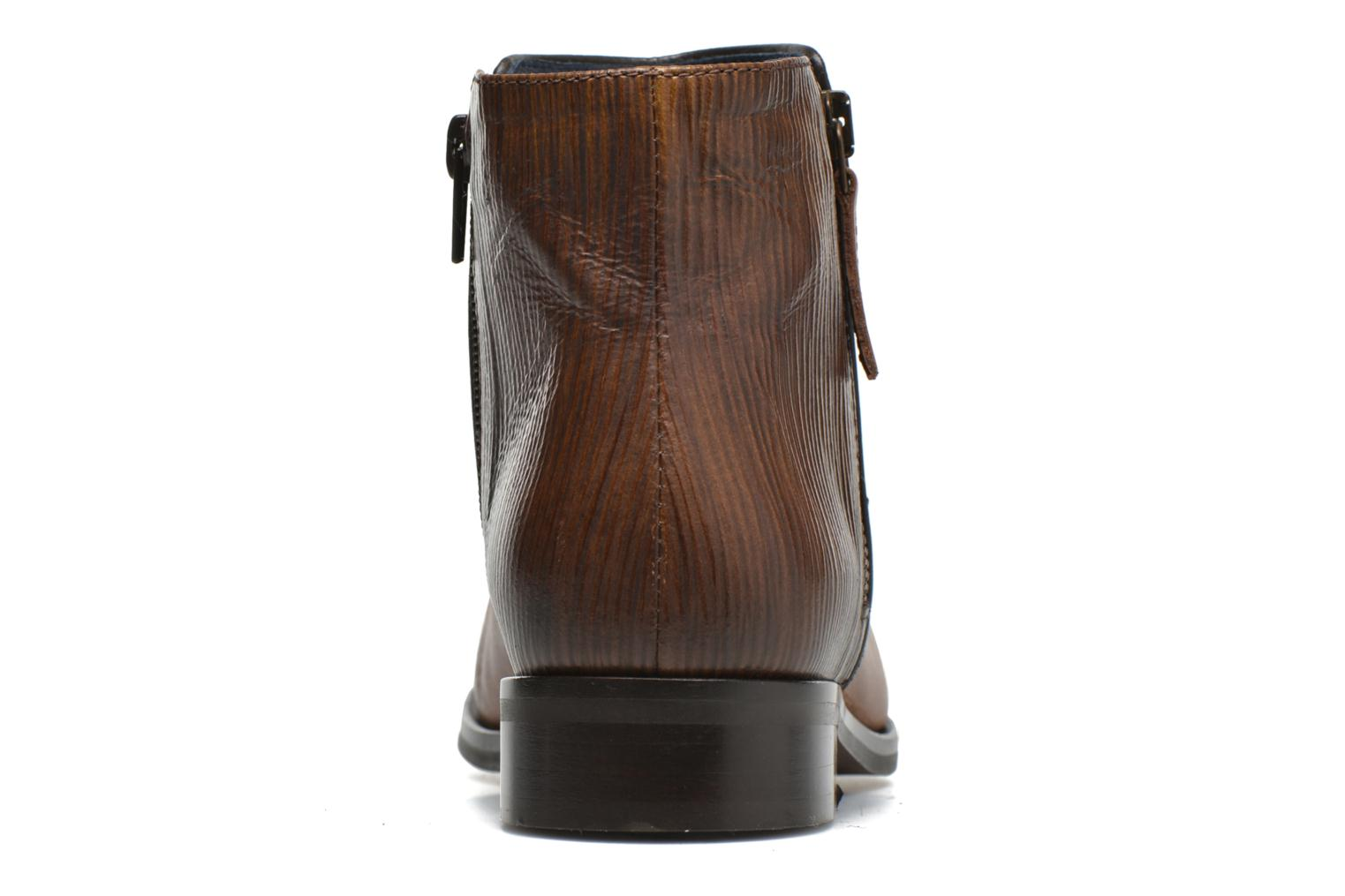Ankle boots PintoDiBlu Marmara Brown view from the right