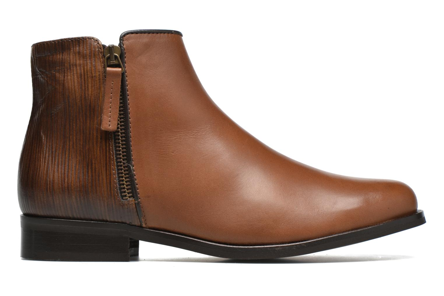 Ankle boots PintoDiBlu Marmara Brown back view