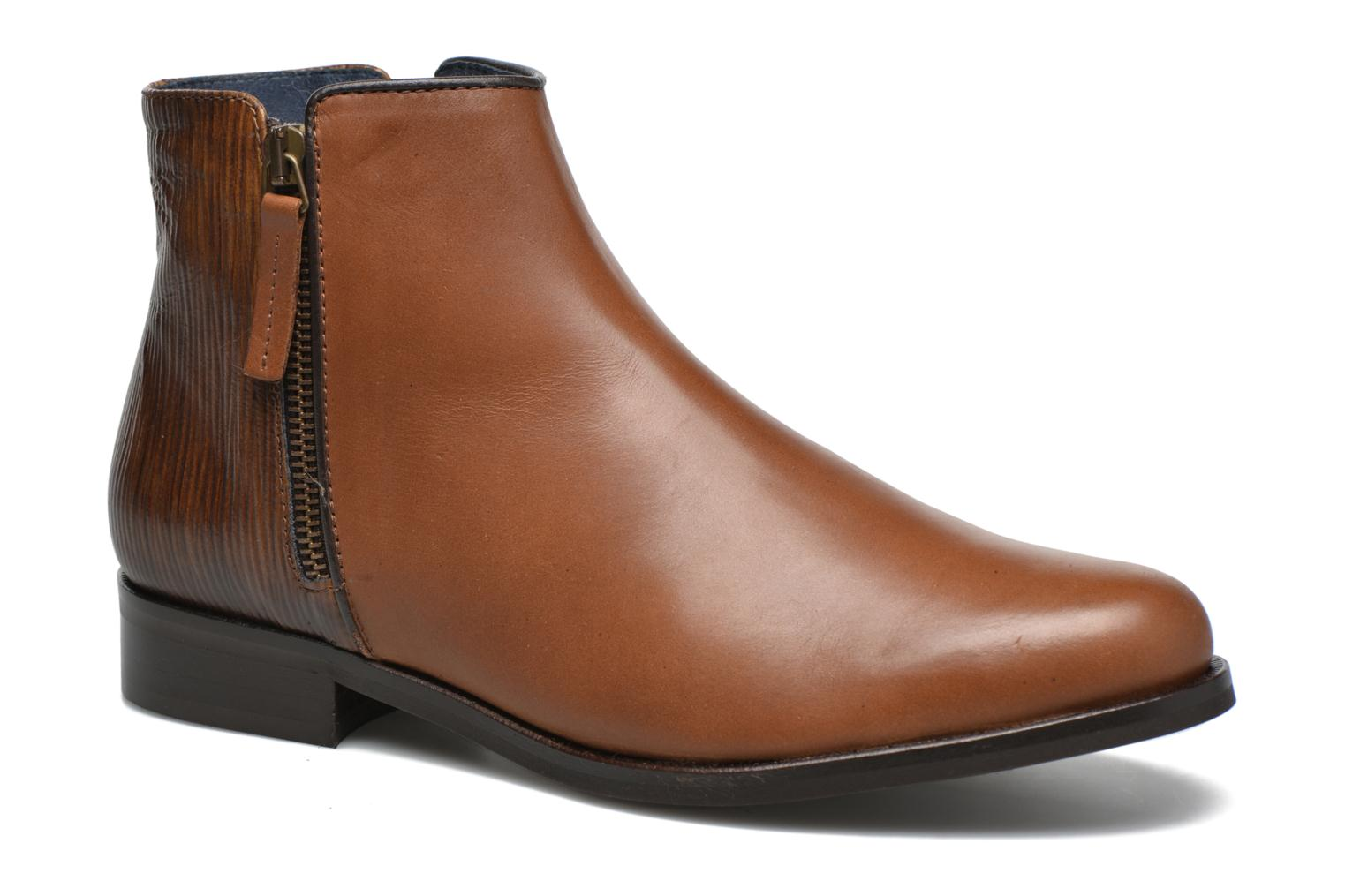 Ankle boots PintoDiBlu Marmara Brown detailed view/ Pair view