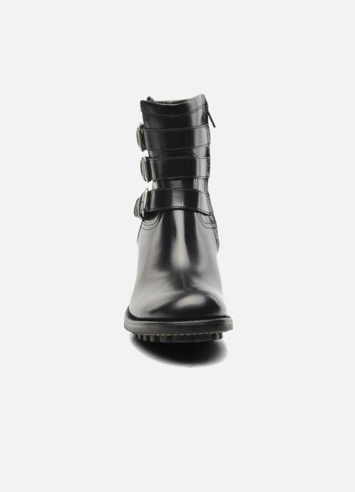Bottines et boots Free Lance Biker 7 Boots 3 straps Noir vue portées chaussures