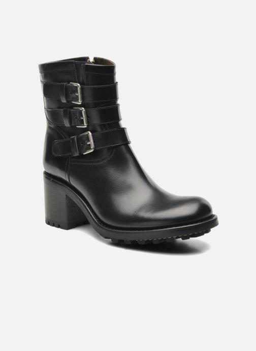 Bottines et boots Free Lance Biker 7 Boots 3 straps Noir vue détail/paire