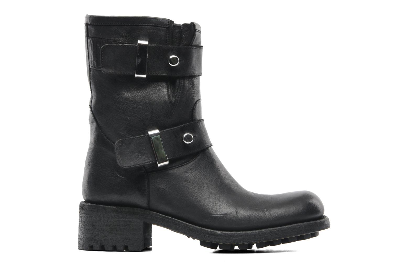 Bottines et boots Free Lance Biker 4 Ministrap Buckle Noir vue derrière