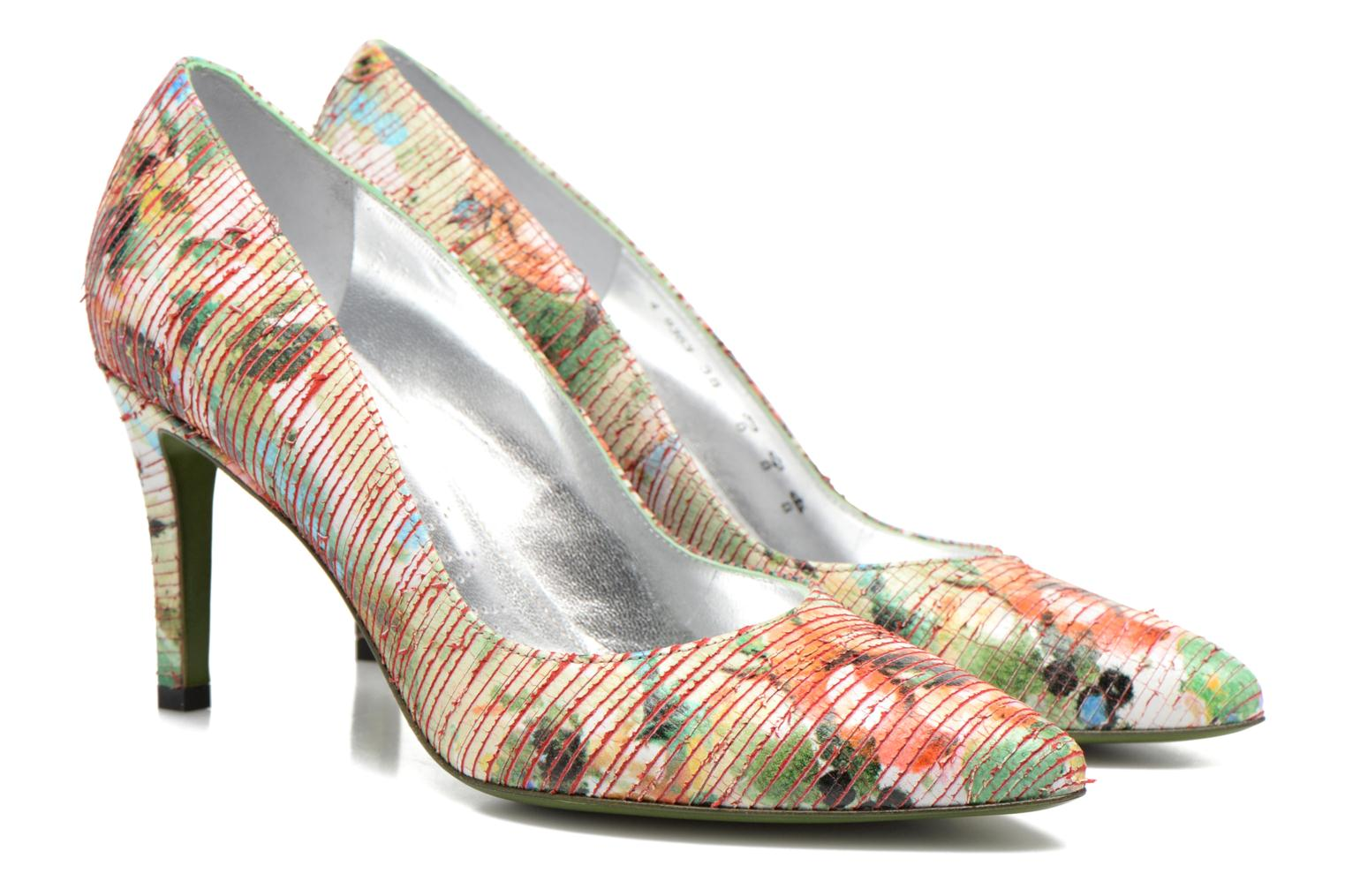 High heels Free Lance Itlys 7 Pumps Multicolor 3/4 view