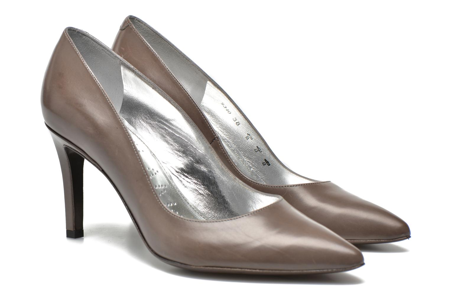 High heels Free Lance Itlys 7 Pumps Grey 3/4 view