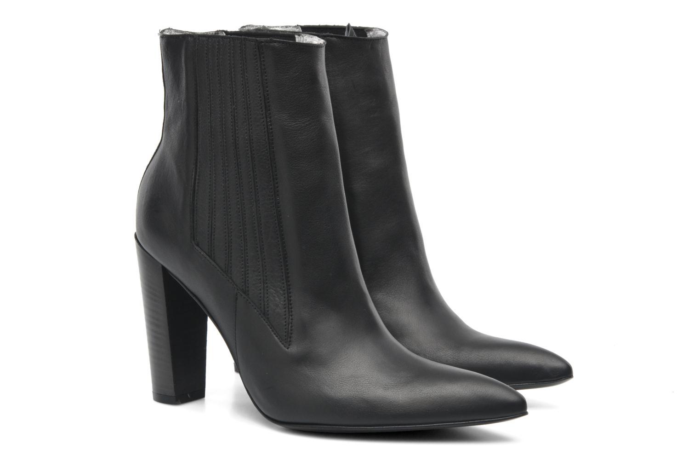 Bottines et boots Free Lance Orsa 9 Jodphur Noir vue 3/4