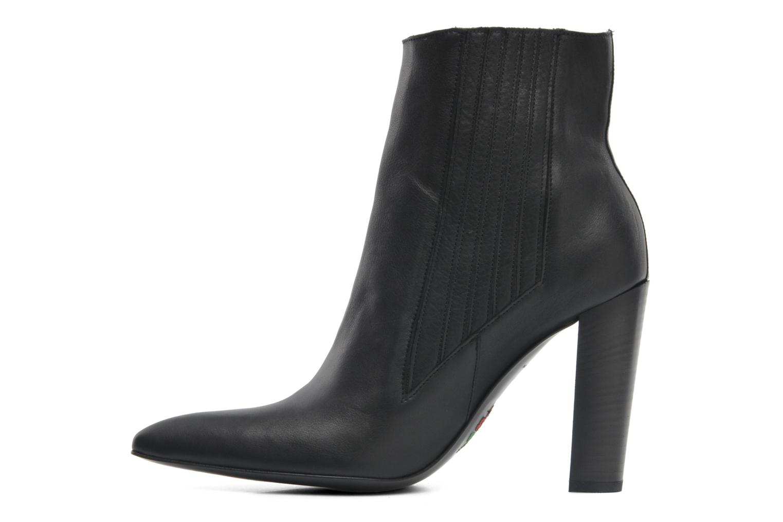 Bottines et boots Free Lance Orsa 9 Jodphur Noir vue face