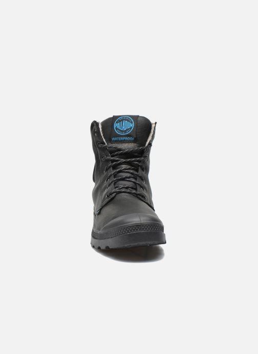 Ankle boots Palladium Pampa Sport Wps Black model view