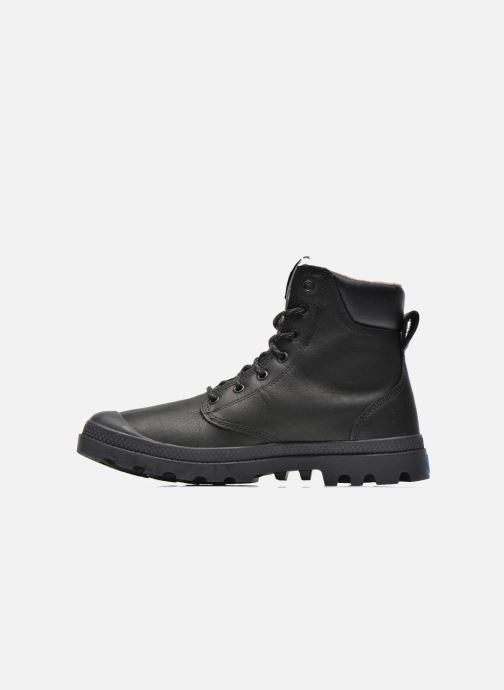 Ankle boots Palladium Pampa Sport Wps Black front view