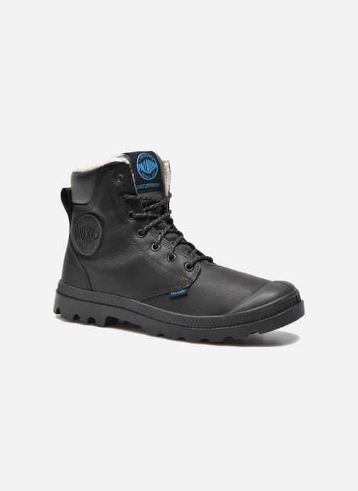 Ankle boots Palladium Pampa Sport Wps Black detailed view/ Pair view