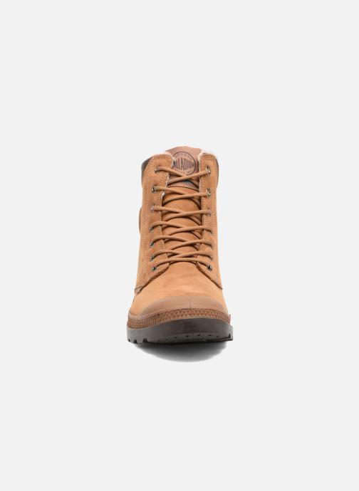 Bottines et boots Palladium Pampa Sport Wps Marron vue portées chaussures
