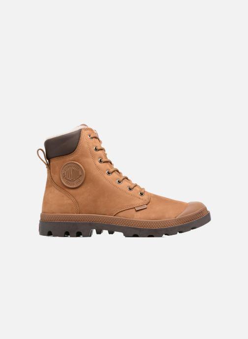 Boots en enkellaarsjes Palladium Pampa Sport Wps Bruin achterkant