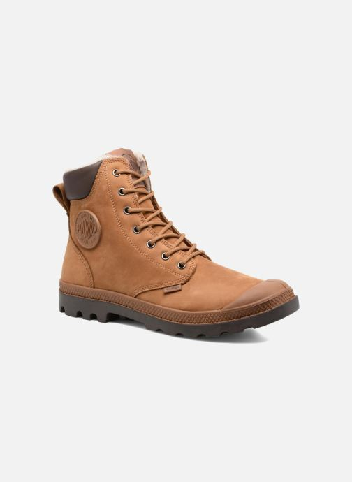 Bottines et boots Palladium Pampa Sport Wps Marron vue détail/paire
