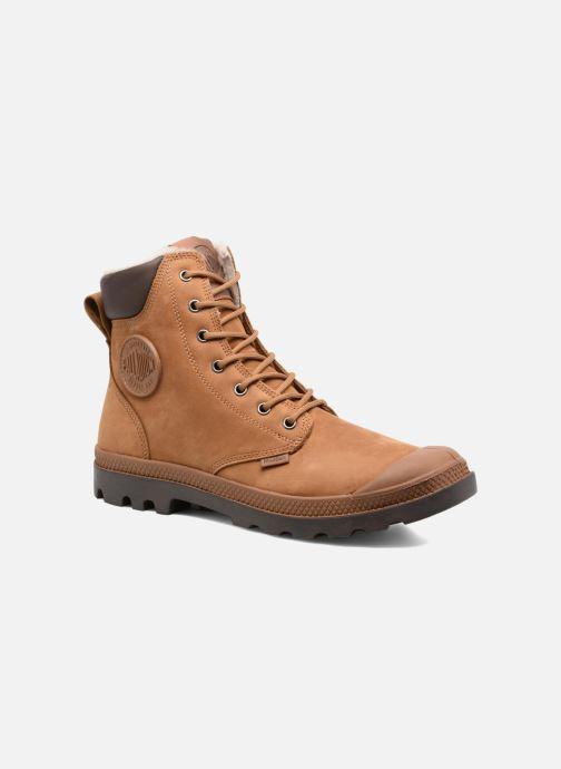 Bottines et boots Palladium Pampa Sport Wps Marron vue détail/paire