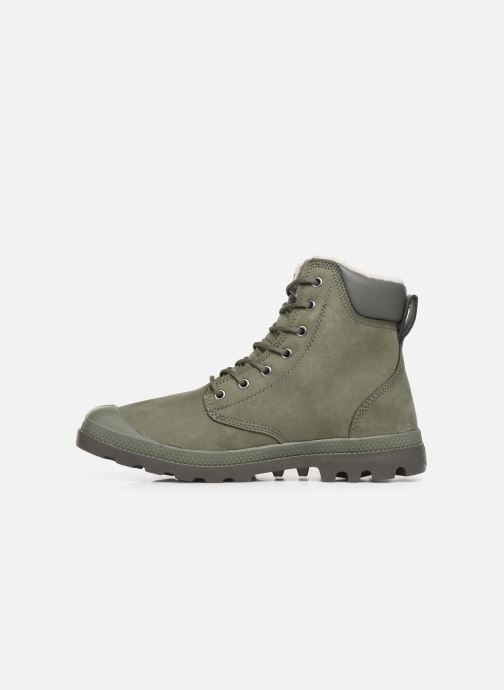 Ankle boots Palladium Pampa Sport Wps Green front view