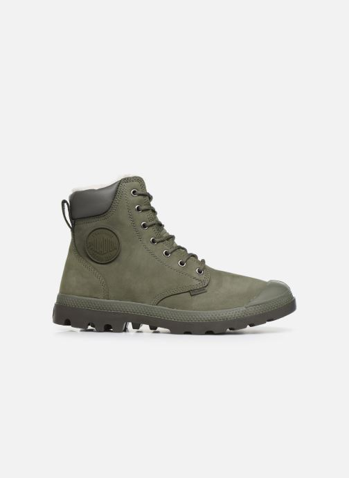 Ankle boots Palladium Pampa Sport Wps Green back view