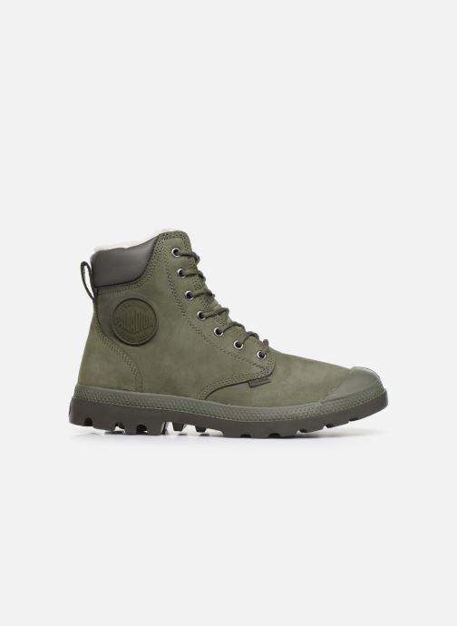 Bottines et boots Palladium Pampa Sport Wps Vert vue derrière