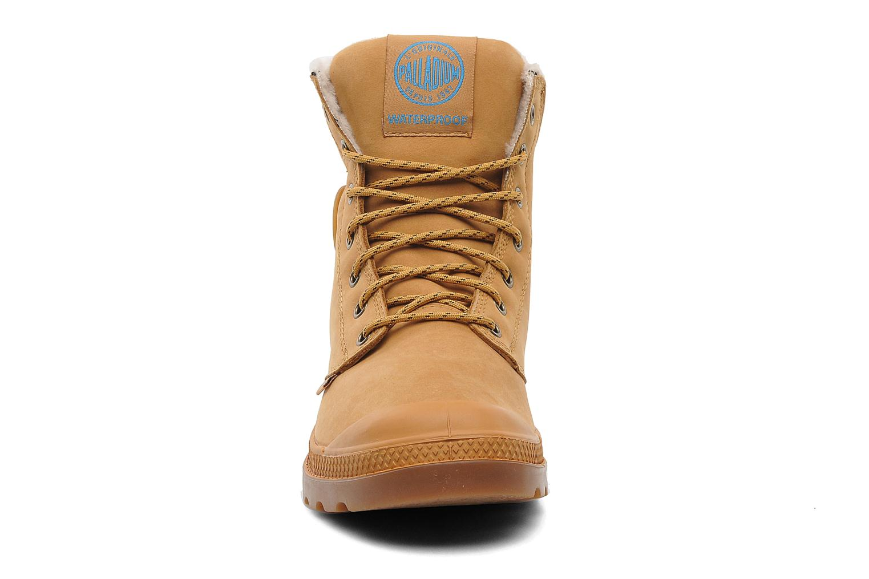 Bottines et boots Palladium Pampa Sport Wps Beige vue portées chaussures