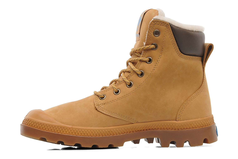 Bottines et boots Palladium Pampa Sport Wps Beige vue face