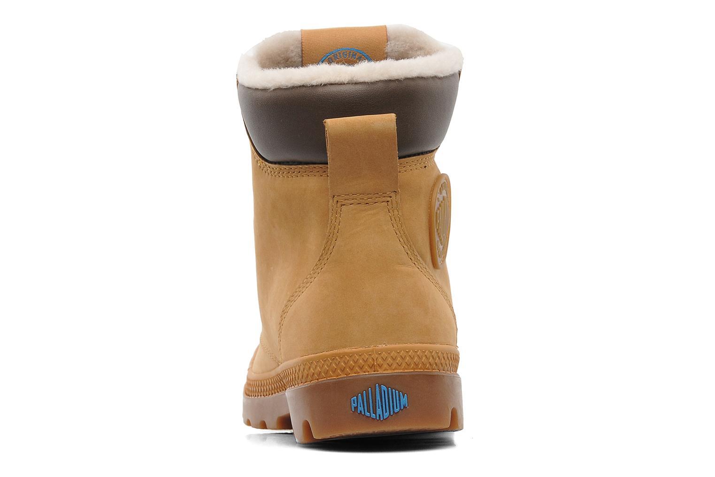 Bottines et boots Palladium Pampa Sport Wps Beige vue droite