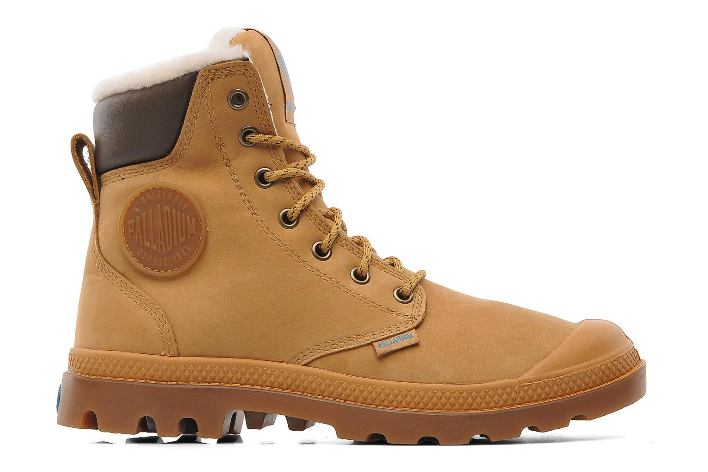 Bottines et boots Palladium Pampa Sport Wps Beige vue derrière