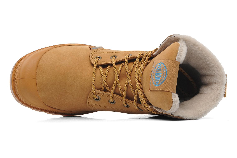 Bottines et boots Palladium Pampa Sport Wps Beige vue gauche