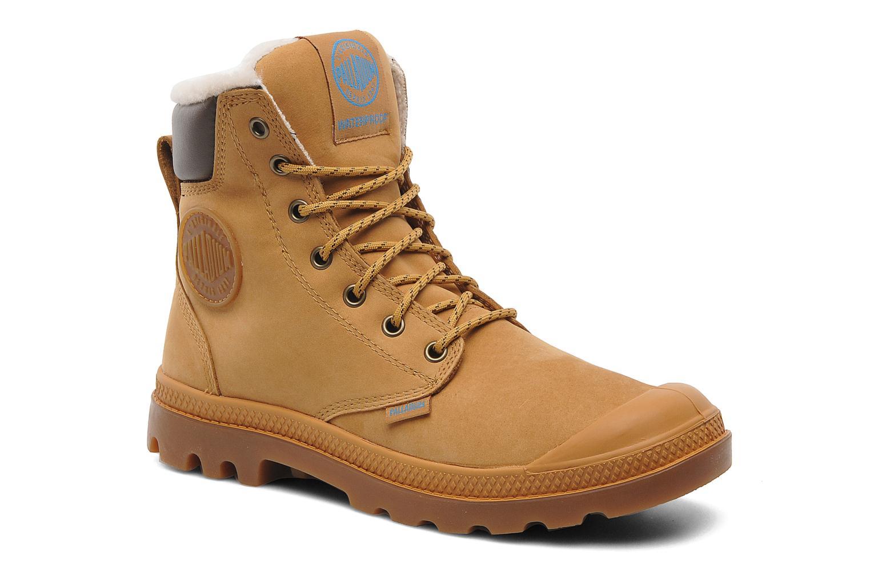 Bottines et boots Palladium Pampa Sport Wps Beige vue détail/paire