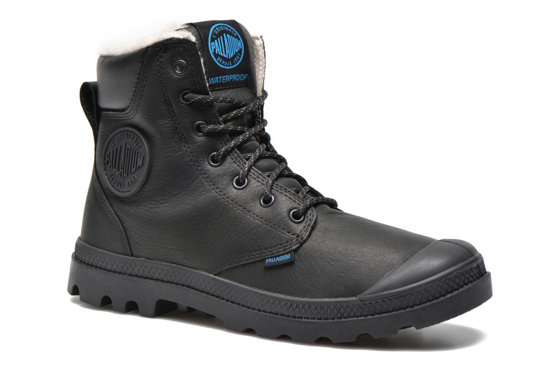 Bottines et boots Palladium Pampa Sport Wps Noir vue détail/paire