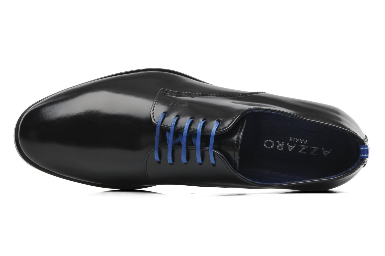 Chaussures à lacets Azzaro Uriac Noir vue gauche
