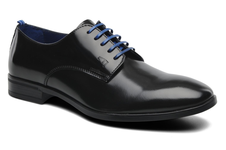 Chaussures à lacets Azzaro Uriac Noir vue détail/paire