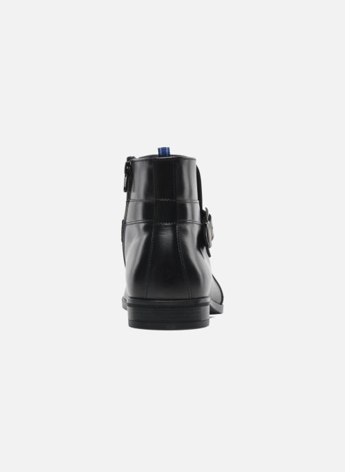 Ankle boots Azzaro Urli Black view from the right