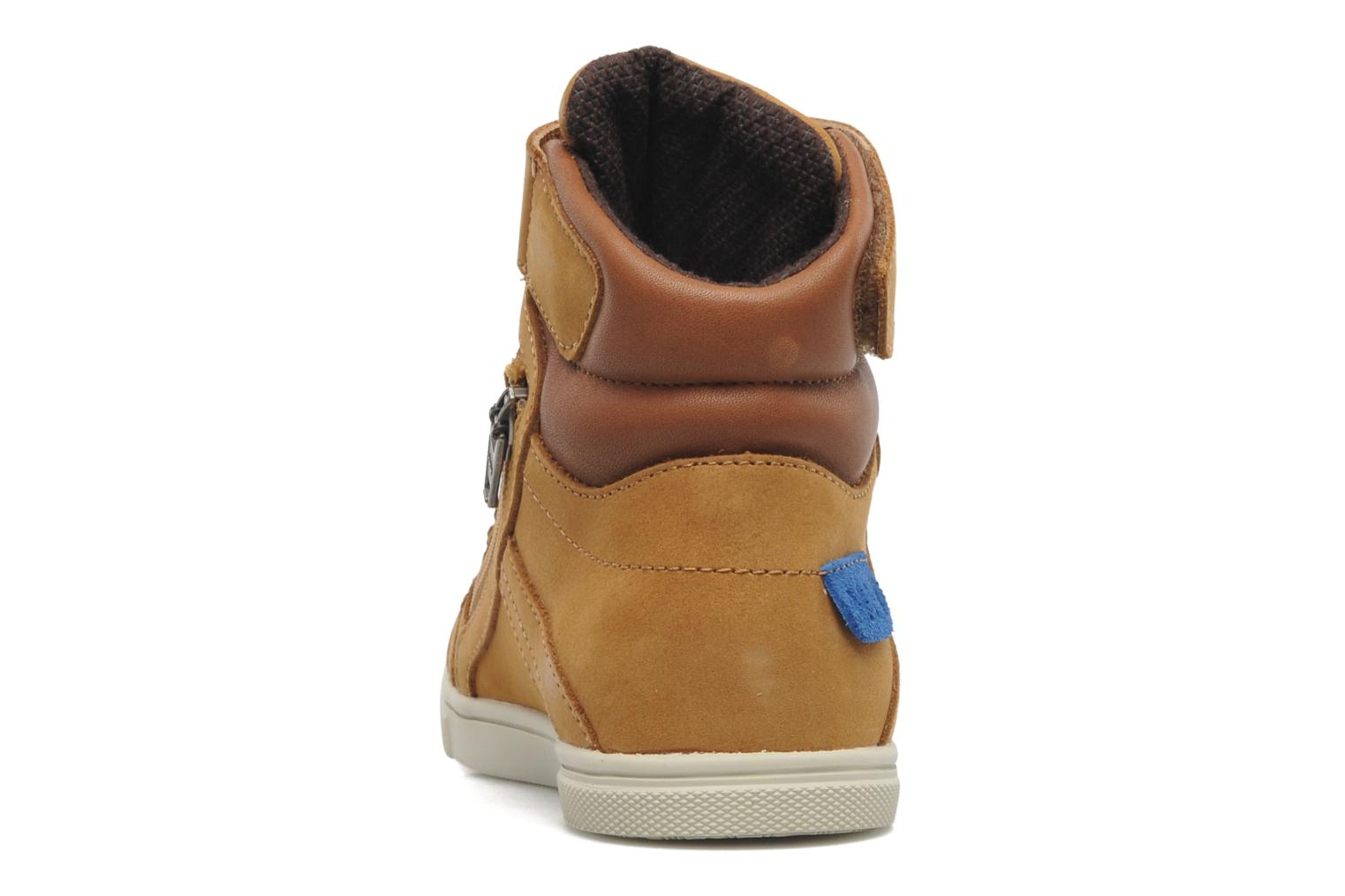 Trainers P-L-D-M By Palladium Veleda WP Brown view from the right
