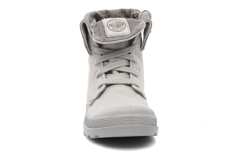 Bottines et boots Palladium Baggy Zipper K Gris vue portées chaussures