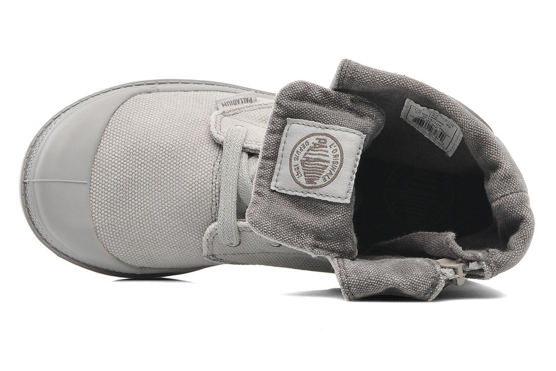 Bottines et boots Palladium Baggy Zipper K Gris vue gauche
