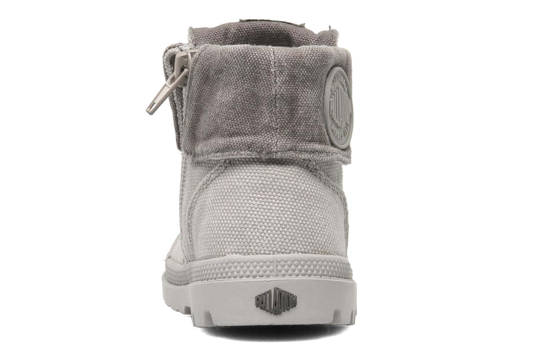 Bottines et boots Palladium Baggy Zipper BB Gris vue droite
