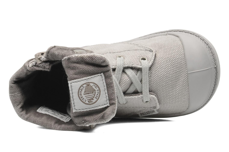 Bottines et boots Palladium Baggy Zipper BB Gris vue gauche