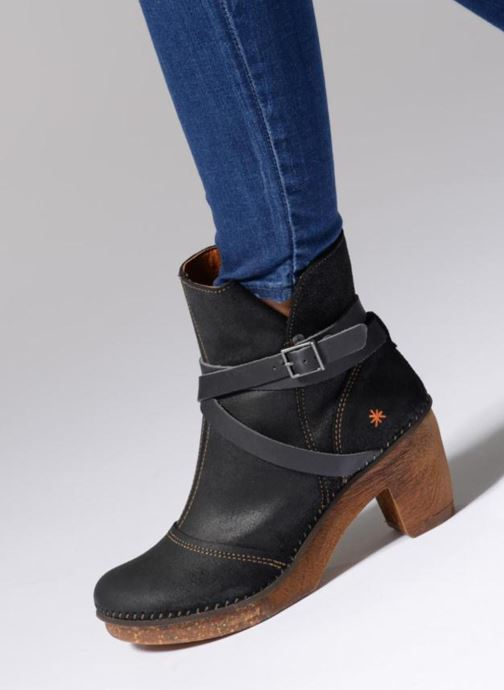 Stiefeletten & Boots Art Amsterdam 343 braun ansicht von unten / tasche getragen