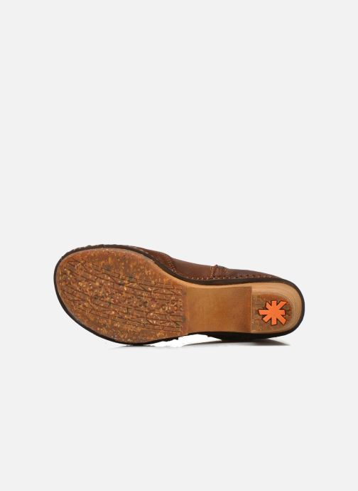 Bottines et boots Art Amsterdam 343 Marron vue haut