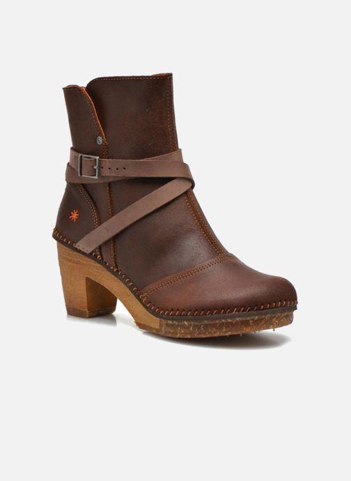 Bottines et boots Art Amsterdam 343 Marron vue détail/paire