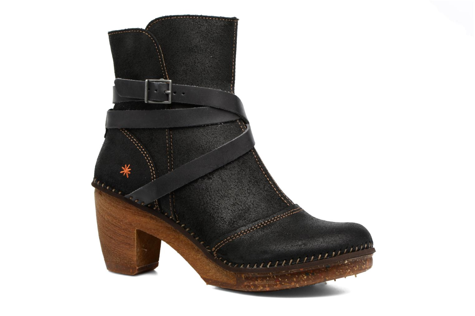 Ankle boots Art Amsterdam 343 Black detailed view/ Pair view