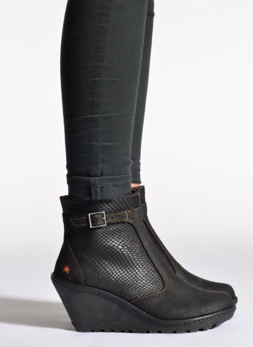 Stiefeletten & Boots Art Vitoria 242 schwarz ansicht von unten / tasche getragen
